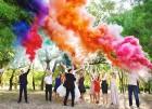 Цветной дым для свадьбы в Ульяновске